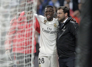 04f8f2104 Problems deepen for Real Madrid as Brazilian sensation Vinicius Jr to miss  rest of the season