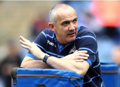 Italy coach Conor O'Shea