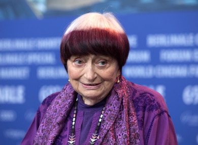 Agnés Varda in February of this year at the Berlinale festival.