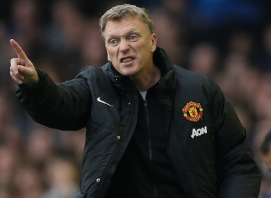 David Moyes spent 10 months as Manchester United manager.