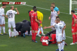 'My skull is still humming' - Calls for Uefa action after Swiss defender plays on despite bad head injury