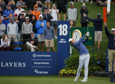 Rory McIlroy is among the leaders heading into the final round at TPC Sawgrass.