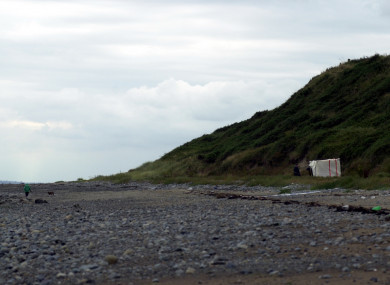 Shellinghill Beach (also known as Templetown Beach) in Co Louth, where Jean McConville's body was found in 2003.