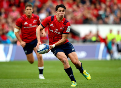 Carbery is back in the 10 jersey.