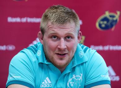 John Ryan: one of seven Munster changes.