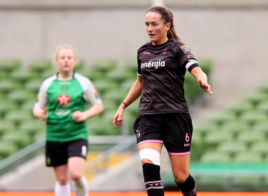 Wexford Youths captain, Kylie Murphy.