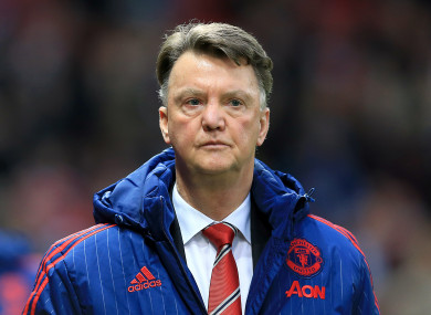 Louis Van Gaal criticised the style of football being played under Solskjaer.