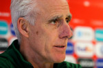 Mick McCarthy speaks to the media at Victoria Stadium, Gibraltar ahead of tomorrow's Euro 2020 qualifier.