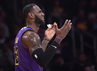 The LA Lakers were defeated by the Brooklyn Nets on Friday.