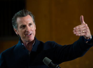 Governor Gavin Newsom will announce the measure today