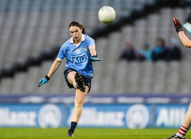 Aherne scored 3-3 on her return to the Dublin team.