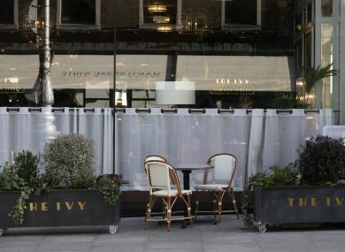 The Ivy Restaurant, Dublin