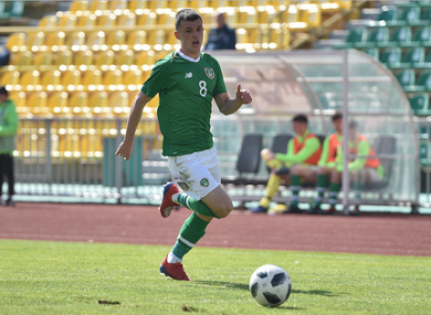 Jason Knight was one of Ireland's goalscorers against Azerbaijan on Saturday.