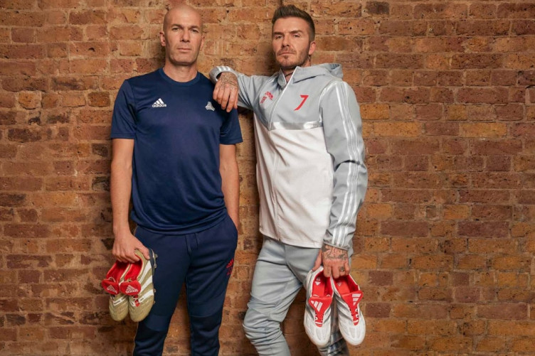 a09f929a4a3 Beckham and Zidane relaunch two of their most iconic Predator boots for  25-year anniversary