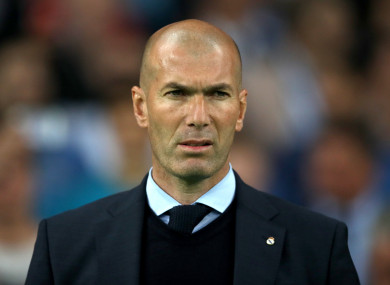 Zinedine Zidane is reportedly set for a second spell as Real Madrid manager.