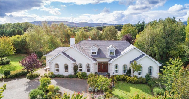 Every day's a spa day: Relax in the outdoor hot tub at this €1.1m Wicklow mansion