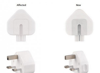 Apple recalls wall adaptors used in Mac and iPhone travel kits
