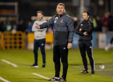 Alan Reynolds' side failed to find the target against Sligo Rovers.