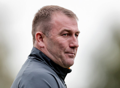 Waterford FC manager Alan Reynolds.