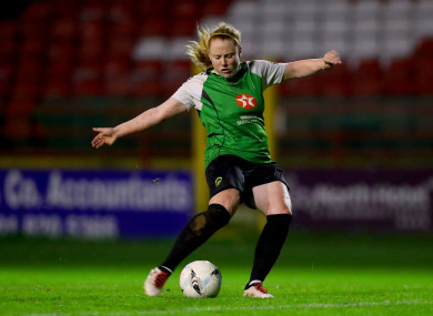 Peamount United striker, Amber Barrett.