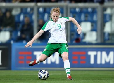 Ireland and Peamount United striker, Amber Barrett.