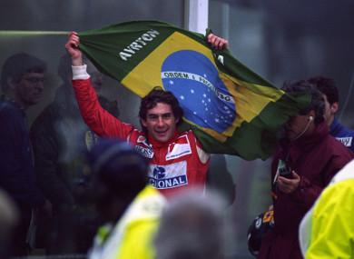 RIP: Ayrton Senna.