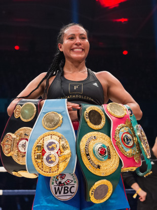 Cecilia Braekhus has been the undisputed welterweight champion since 2014, and is the first-ever female boxer to have held all major belts simultaneously.