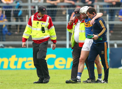 Brendan Maher was struck down in last year's Munster championship.