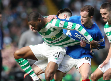Rangers and Celtic took part in a tempestuous Old Firm derby on Sunday.