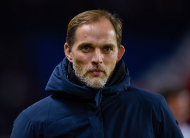 Disappointing outcome for PSG boss Thomas Tuchel.