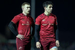 Keith Earls (left) and Joey Carbery.