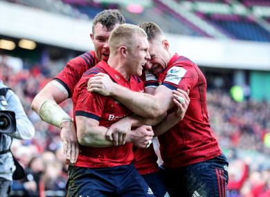 Munster are preparing for a trip to Coventry.