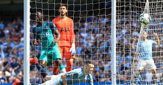 As it happened: Manchester City v Tottenham, Premier League