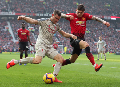 b9839d6d 'First time in my life' - Liverpool's Milner will be supporting Man United  tomorrow night