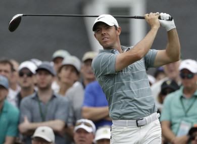 Rory McIlroy has only a slim hope of completing a career Grand Slam tomorrow at Augusta.