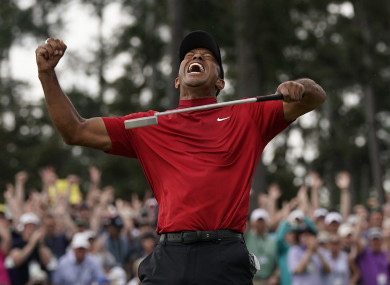 Tiger Woods: remarkable comeback ended with a fifth Masters green jacket.