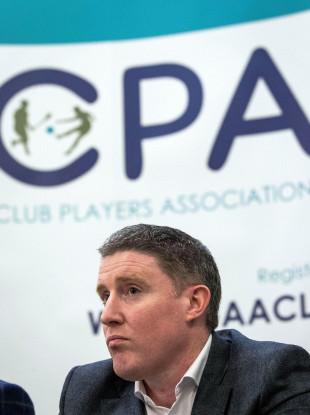Club Players Association chairman Michael Briody.