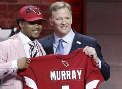 0855470712dd81 Cardinals make Kyler Murray first pick as Giants spring Daniel Jones ...