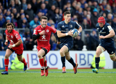 Leinster and Toulouse met in this year's pool stages.