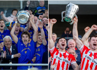 St Finbarr's and Imokilly are the county senior champions last year in Cork.