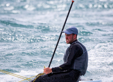 Finn Lynch impressed at the Palma regatta today.