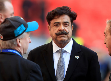 Fulham chairman, Shahid Khan.