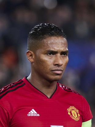 Manchester United full-back Antonio Valencia.