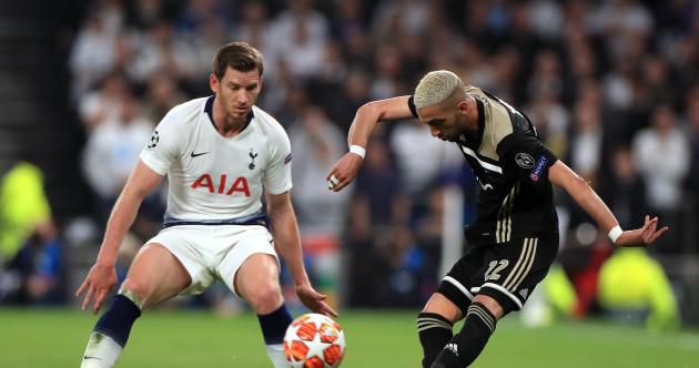 As it happened: Tottenham v Ajax, Champions League semi-final first-leg