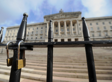 The Northern Ireland Assembly building in Stormont (file photo)