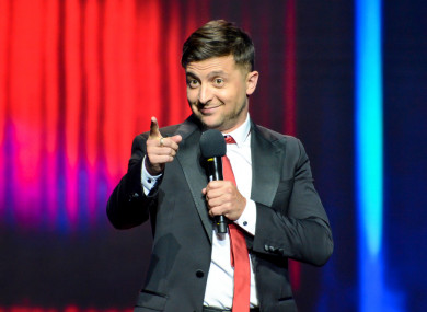 Zelensky stock photo