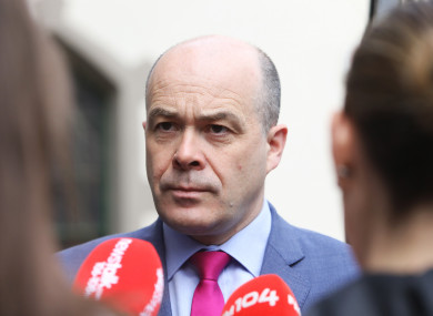 Denis Naughten resigned from the government last year.