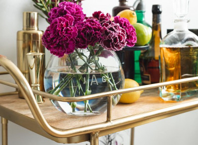 Style Shake Up 6 Beautiful Bar Carts Thatll Cause A Stir