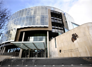 File photo. Criminal Courts of Justice in Dublin