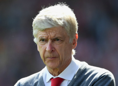 Ex-Arsenal boss Arsene Wenger.